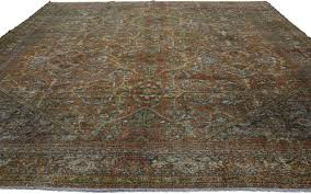 Area Rugs Dallas Tx by Distressed Vintage Persian Mahal Area Rug With Modern Industrial