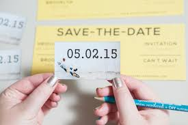 inexpensive save the date cards learn how to easily make your own magnet save the dates