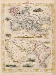 Christopher Columbus Route Map by Map Of Trade Routes In India 1851 India Pinterest India