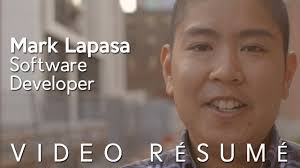 Best Video Resume Software by Video Resume Mark Lapasa No Recruiters Plz Youtube