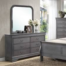 nightstand attractive silver mirrored nightstand dresser with