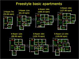 apartment plans sqm architecture design services freestyle y