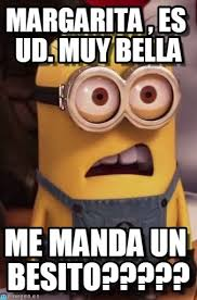 Margarita Meme - margarita es ud muy bella add meme en memegen