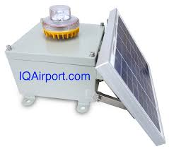 oksolar airfield solar obstruction lights
