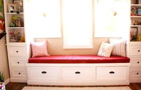 storage bench cushions large size of under window storage bench