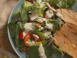 pork chop layered salad with blue cheese dressing recipe nancy