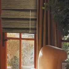 green tea bamboo window shades attaching the bamboo window