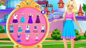barbie play game