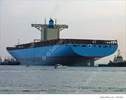 picture of the world u0027s biggest container ship