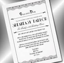 45 best invites images on pinterest speakeasy party roaring 20s