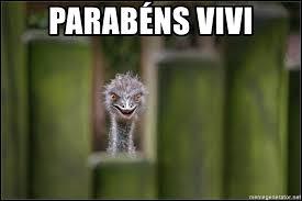 Ostrich Meme - parabéns vivi creepy ostrich meme generator