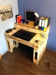 Small Wooden Computer Desks Wooden Computer Desk Pallet Computer Desk Small Wooden Computer