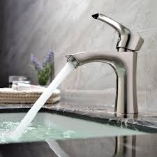 kitchen faucet splitter kingo home contemporary stainless steel single hole lavatory