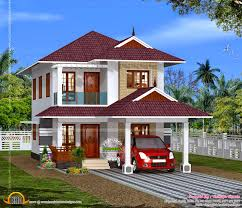 december kerala home design floor plans bedroom modern sq ft villa