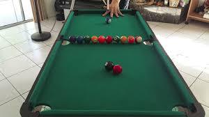 mini pool table amazing trick shots slow motion youtube