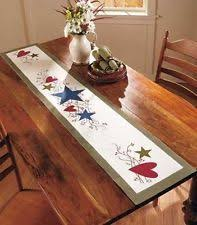 free pattern neutrals table runner at fabric editions