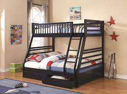 Twin And Full Bunk Beds by Amazon Com Twin Over Full Bunk Bed Navy Blue Kitchen U0026 Dining