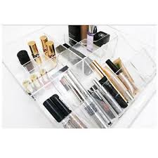 ikea makeup organizer new ikea clear acrylic jewellery box makeup organizer cosmetic
