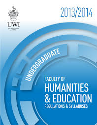 faculty of humanities u0026 education undergraduate booklet 2013