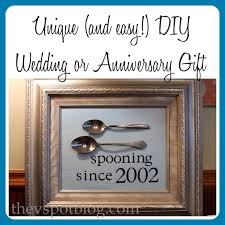 wedding gift by year a diy personalized wedding or anniversary gift for less than 20