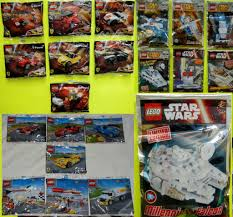 ferrari lego shell lego star wars and ferrari polybags from magazines and shell