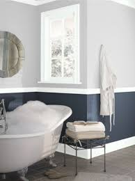 Navy And White Bathroom Ideas - benjamin moore hale navy and graytint bathrooms pinterest