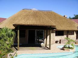 making a house thatched roof house plans thatch plan cottage construction buildings