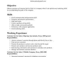 Resume Qualifications For Customer Service Resume Skills Hitecauto Us