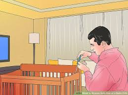 Screws For A Baby Crib by How To Ensure Safe Use Of A Baby Crib 15 Steps With Pictures