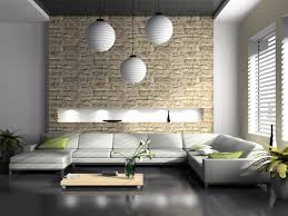 steinwand wohnzimmer fliesen airemoderne einfache heimdekoration ideen architektur design