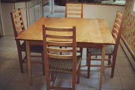 Kitchen Table And Chairs Thomas W Brady Furnituremaker - Maple kitchen table