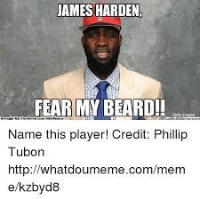 Ebook Meme - james harden fear my beard getty images ebook whatipl comnba memes