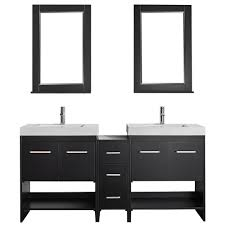 decor living carina 18 in w x 16 in d vanity in white with