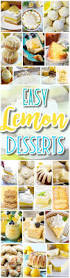 the best easy lemon desserts and treats recipes u2013 perfect for