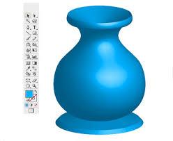 Vase Drawing Drawing A Vase Using Illustrator Cs3 Maa Illustration