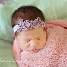 hair accessories for babies new 2018 newborn baby rhinestone headbands free insured ship