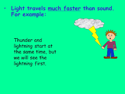 which travels faster light or sound images Light energy how light interacts with matter ppt video online jpg