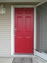 Front Door Red by Valspar Brielle Rose