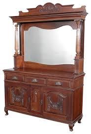 antique victorian walnut buffet sideboard server buffets and