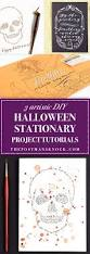 halloween banner png 3 artistic diy halloween stationery project tutorials the