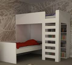 Wood Loft Bed With Desk Plans by Best 25 Corner Bunk Beds Ideas On Pinterest Bunk Rooms Cabin