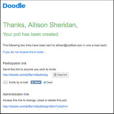 doodle poll tool doodle simplifies scheduling podfeet podcasts