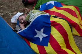 Estelada Flag The Latest Spanish Prosecutor Seeking Sedition Charges Boston
