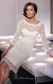 white lace dress with sleeves knee length turmec white lace sleeve knee length dress