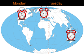 Time Zone Maps by Time Zone Arbitrage In Outsourcing