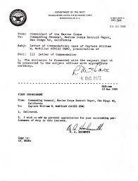 july 24 1959 letter of commendation