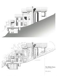 Slope House Plans Modern House Plans On A Slope