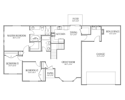 rambler floor plans floorplans rambler house plan ashborn main