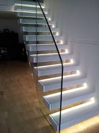 decorations luxury modern lighting staircase design ideas with