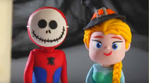 spiderman frozen elsa halloween joker halloween pranks